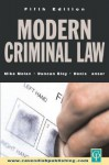 Modern Criminal Law - Michael T. Molan, Duncan Bloy, Denis Lanser