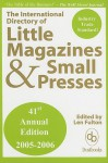 The International Directory of Little Magazines and Small Presses - Len Fulton
