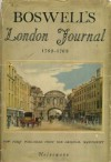 Boswell's London Journal, 1762 - 1763 - James Boswell, Frederick A. Potter, Christopher Morley