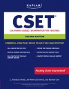 Kaplan CSET: California Subject Examination for Teachers - Lee Brainerd, Rodney Lee, Lee Brainerd