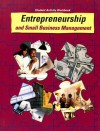 Entrepreneurship and Small Business Management Student Activity Workbook - Earl C. Meyer, Kathleen R. Allen