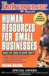 Entrepreneur Magazine: Human Resources for Small Businesses - William Sullivan
