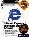 Internet Explorer 4 Technical Support Training - Microsoft Press, Microsoft Press