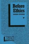 Before Ethics - Adriaan Theodoor Peperzak