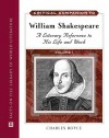 Critical Companion to William Shakespeare: A Literary Reference to His Life and Work - Charles Boyce