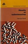 Filosofie en taalwetenschap - Herman Parret