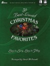 50 Best-Loved Christmas Favorites: Easy to Sing, Easy to Play - David McDonald