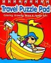 Travel Puzzle Pad: Red - Yoyo Books