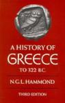 A History of Greece to 322 B.C. - Nicholas Geoffrey Lemprière Hammond