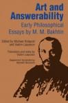 Art and Answerability (University of Texas Press Slavic Series) - Michael Holquist, M. M. Bakhtin, Vadim Liapunov, Kenneth Brostrom