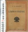 Lett. Nordica - Hans Christian Andersen - L'Improvvisatore - Solo Volume 1 - Andersen Hans Christian