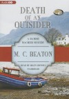 Death of an Outsider - M.C. Beaton, Shaun Grindell