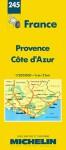Michelin Provence/Cote d'Azur, France Map No. 245 (Michelin Maps & Atlases) - Michelin Travel Publications, Pneu Michelin