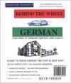 Behind the Wheel German (6 CD Course) - Mark Frobose