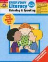 Everyday Literacy: Listening and Speaking, Grade PreK - Evan-Moor Educational Publishing
