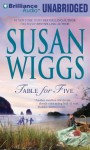 Table for Five - Susan Wiggs, Amy Rubinate