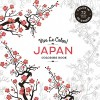 Vive Le Color! Japan (Adult Coloring Book): Color In: De-Stress (72 Tear-Out Pages) - Abrams Noterie, Original French Edition by Marabout