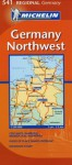 Northwest Germany Map - Michelin Travel Publications