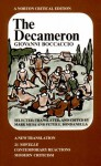 The Decameron: A New Translation (Norton Critical Editions) - Giovanni Boccaccio, Mark Musa, Peter Bondanella
