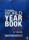 The Europa World Year Book 2013 - Europa Publications