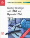 New Perspectives on Creating Web Pages with HTML and Dynamic HTML - Comprehensive - Patrick Carey, Joan Carey