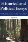 Essays - William Edward Hartpole Lecky
