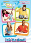 Join the Band! (Fresh Beat Band) (Full-Color Activity Book with Stickers) - Frank Berrios, Golden Books, Ines Mangual