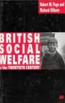 British Social Welfare In The Twentieth Century - Richard L. Silburn, Robert L. Page