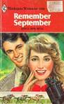 Remember September - Joyce Dingwell