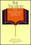 The Talmud, The Steinsaltz Edition, Volume 18: Tractate Sanhedrin Part IV (Talmud the Steinsaltz Edition) - Adin Steinsaltz