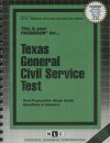 Texas General Civil Service Test - Jack Rudman