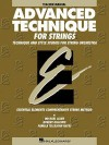 Advanced Technique for Strings (Essential Elements Series): Teacher Manual - Allen Gilles, Robert Gillespie, Michael Allen