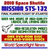2010 Space Shuttle Mission STS-132 - The Complete Story of the Last Planned Flight of Atlantis OV-104, May 2010, Comprehensive High-Quality Video, Images, Flight Documentation, ISS (Six Disc Set) - NASA, World Spaceflight News