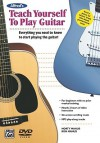 Alfred's Teach Yourself to Play Guitar: Everything You Need to Know to Start Playing the Guitar! [With DVD] - Ron Manus