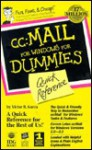 CC: Mail for Windows for Dummies: Quick Reference - Victor R. Garza