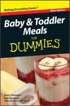 Baby and Toddler Meals For Dummies, Mini Edition - Dawn Simmons, Curt Simmons, Sallie Warren