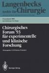 110. Kongrea Der Deutschen Gesellschaft Fa1/4r Chirurgie, Ma1/4nchen, 13.-17. April 1993 - H.M. Becker, W. Hartel, M. Büchler, M.H. Schoenberg, M. Storck