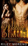PARANORMAL: MATED BY THE DEMON (INTERRACIAL ALPHA SHIFTER PREGNANCY COLLECTION) (Contemporary New Adult Paranormal Short Stories) - Riley moreno