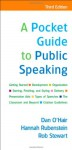 A Pocket Guide to Public Speaking - Dan O'Hair, Hannah Rubenstein, Rob Stewart