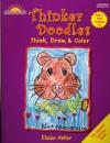 Thinker Doodles, Half 'n-Half Animals Book A1: Think, Draw, & Color Grades K-1 - Elaine Heller