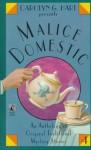 Carolyn G. Hart presents Malice Domestic (4) (v. 4) - Carolyn G. Hart, Ralph McInerny, Rochelle Majer Krich, Carole Nelson Douglas, K. K. Beck, P. M. Carlson, Kathy Hogan Trocheck, Linda Grant, Annette Meyers, Elizabeth Daniels Squire