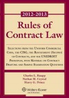 Rules of Contract Law 2012-2013 Statutory Supplement - Charles L. Knapp, Nathan M. Crystal, Harry G. Prince