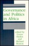 Governance and Politics in Africa - Goran S. Hyden, Michael Bratton