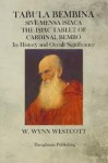 The Isiac Tablet of Cardinal Bembo - William Wynn Westcott