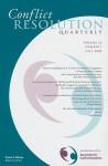 Conflict Resolution Quarterly, No. 1 (J-B MQ Single Issue Mediation Quarterly) (Volume 26) - CRQ (Conflict Resolution Quarterly)