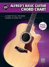 Alfred's Basic Guitar Chord Chart: A Chart of All the Basic Chords in Every Key - Alfred Publishing Company Inc.