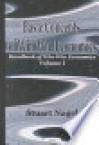 Handbook of Win-Win Economics - Stuart S. Nagel
