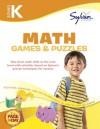 Kindergarten Math Games & Puzzles (Sylvan Workbooks) - Sylvan Learning