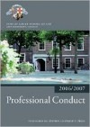 Professional Conduct - Inns of Court School of Law