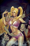 Zombies Vs Cheerleaders Halloween Special #1 CVR B - Steven Frank, Heather Finley